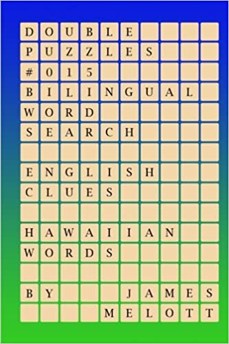 Buy Double Puzzles #015 - Bilingual Word Search - English
