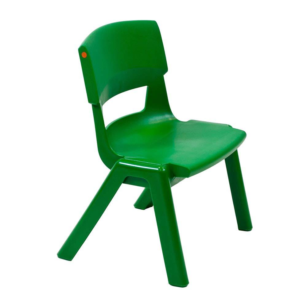 460mm Seat Height Postura Plus School Classroom Chair Slate Grey Size 6