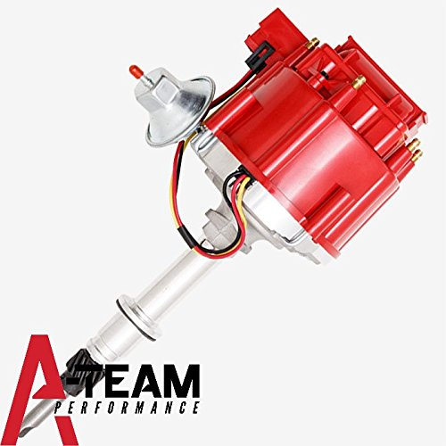 A-Team Performance Inline 6 Cylinder 230 250 292 65K Coil Complete HEI Distributor Chevrolet Compatible With CHEVY/GM GMC TRUCK Late Model 7500 RPM One Wire Installation -
