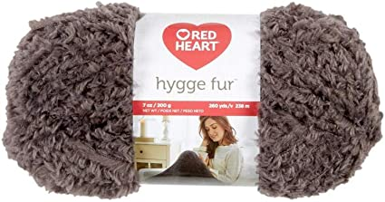 Smokey Red Heart E869.8341 Hygge Yarn 5oz