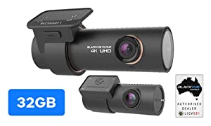 Blackvue DR900S-2CH 32GB 4K UHD + FULL HD CLOUD DASHCAM … (32GB)