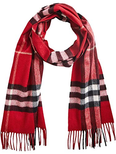 Burberry Cashmere Scarf - Burberry Women's 3993742 Red Cashmere Scarf