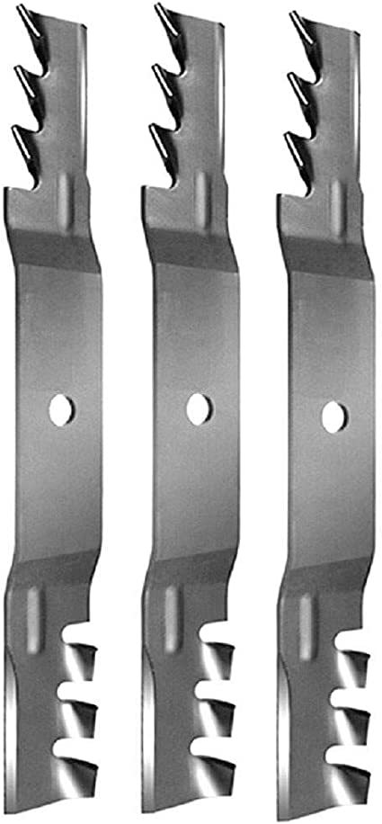 3 Pk Copperhead Mulch Blade fits Exmark 50/' Quest 115-5059 115-5062 USA Made