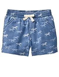 Gymboree - Pantalones Cortos de Mezclilla para niña