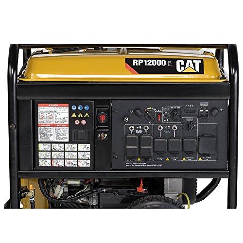 RP12000E 12000 Running Watts 15000 Starting Watts Gas Powered portable Generator 502-3699