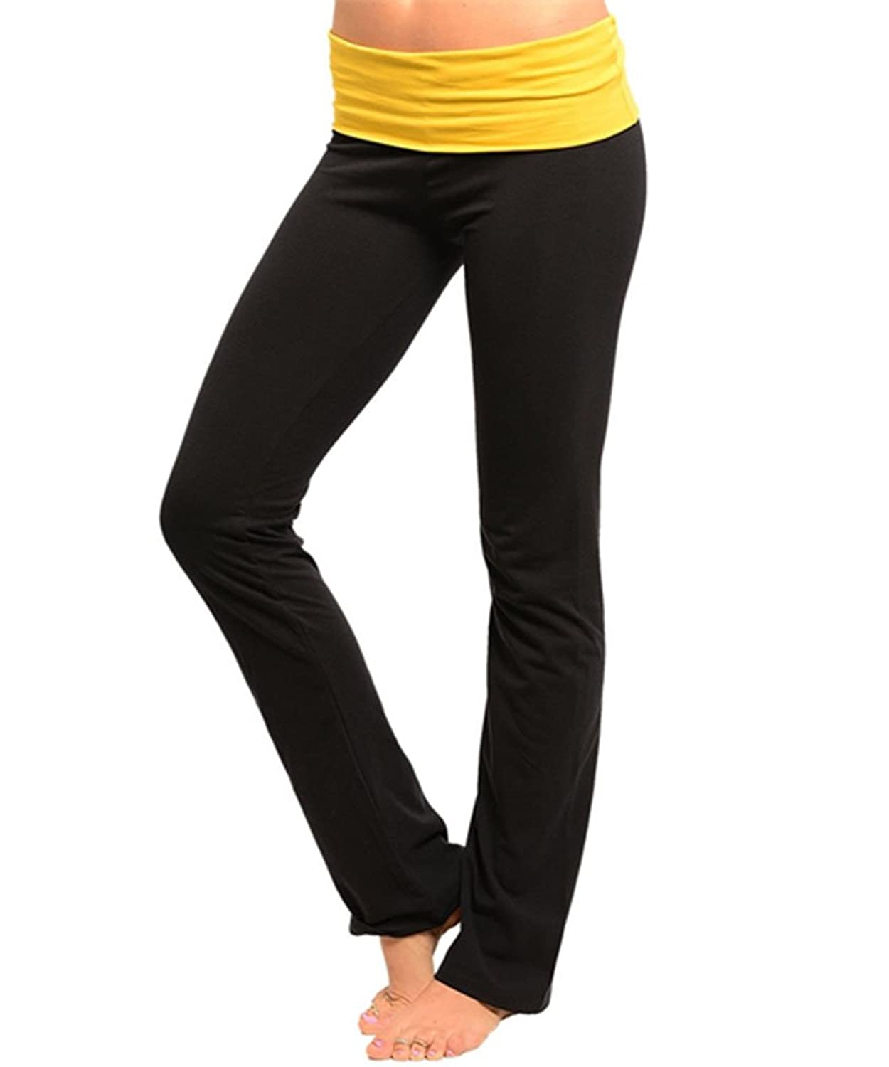 60%OFF Simplicity Ladies'Workout Yoga Pants, Many Colors, Cotton ...