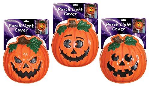 Pumpkin Porch Light Cover/Wall Decoration ()