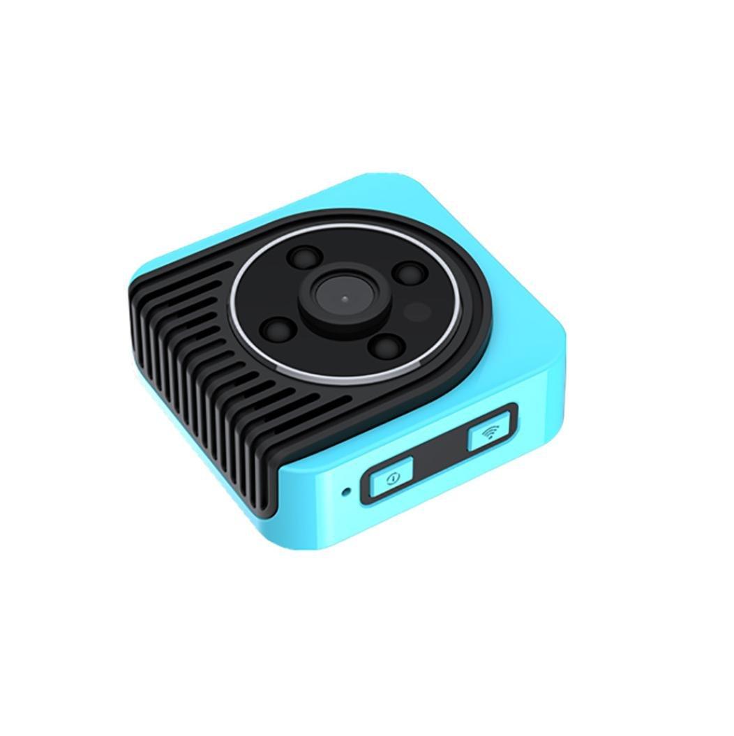 OverDose Mini DV Kamera Wearable Full HD Auto Sport IR Nachtsicht Night Vision DVR Videorecorder Kamera Camcorder DV,444414 mm