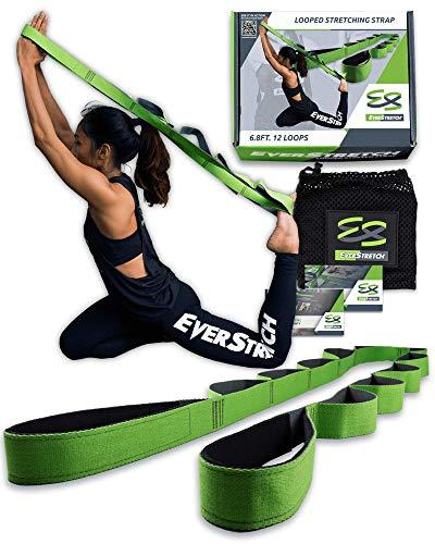 EverStretch Non-Elastic Cinghia Yoga Non Elastica ad Anelli - Cintura ad Anelli, Fascia per Stretching con Passanti… 1 spesavip