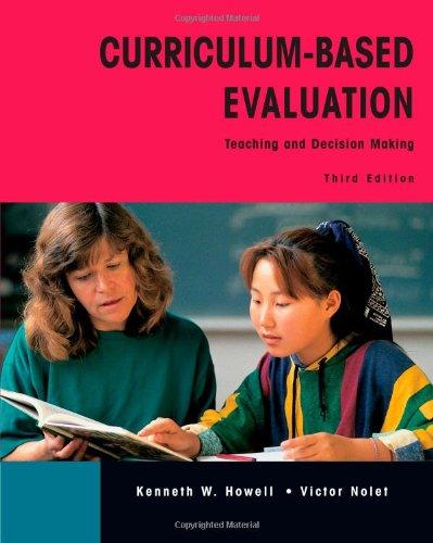 Curriculum Based Evaluation
