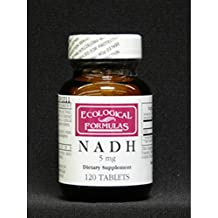 Ecological Formulas Nadh Tablet, 5 mg, 120 Count