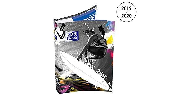 Amazon.com : Oxford Sport Spirit Daily School Diary 2019 ...