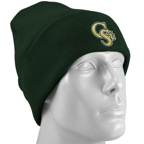 (adidas Colorado State Rams Green Watch Cuffed Knit Beanie)