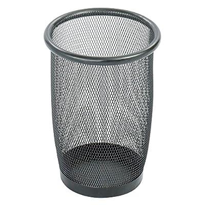 Safco Onyx Mesh Round Wastebasket