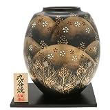 Kotobuki Japanese Vase: Kutani Golden Mountains #510-581
