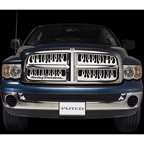 Putco 89192 Flaming Inferno Mirror Stainless Steel Grille