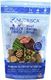 DOGSWELL Nutrisca Freeze Dried Dinner Bites, Beef, 5-Ounce Package