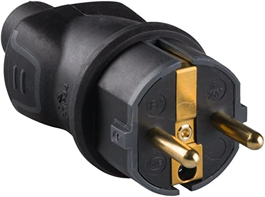 legrand 050196 Enchufe para Uso Profesional, 3680 W, 230 V, Negro ...