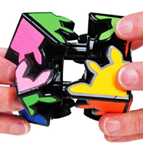 Meffert's Gear Shift Black Puzzle Cube Smooth Twisty Meffert NEW - Gear Shift Puzzle Cube