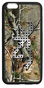 """WGZ Fashion Hot Browning Camo Case Cover for Iphone 6 Plus 5.5""""(Laser Technology)"""