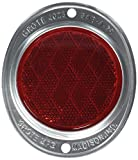 Automotive : Grote 40232 Red Aluminum Two-Hole Mounting Reflector