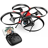 #7: DROCON Wi-Fi Drone with FPV 720P HD Camera and Real-time video, Quadcopter Designed for Beginners with a 15-min Flight Time, Altitude Hold, Headless Mode, 4GB TF Card Included