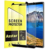 Galaxy Note 8 Screen Protector, Asstar [2-Pack] Tempered Glass Screen Protector [9H Hardness][Anti-Scratch][Anti-Bubble][3D Curved] [High Definition] [Ultra Clear] Compatible with Samsung Galaxy Note