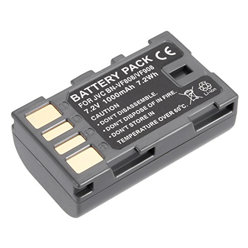 uxcell 7.2V 1000mAh BN-VF808 Li-ion Battery Pack for Digital Video Camera by uxcell