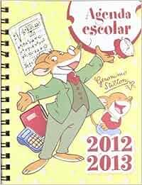 Agenda escolar 2012-2013 - geronimo stilton: Amazon.es: Aa