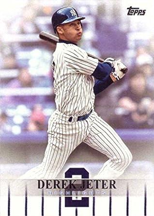 Amazoncom 2018 Topps Target Derek Jeter Highlights Djh 3 Baseball
