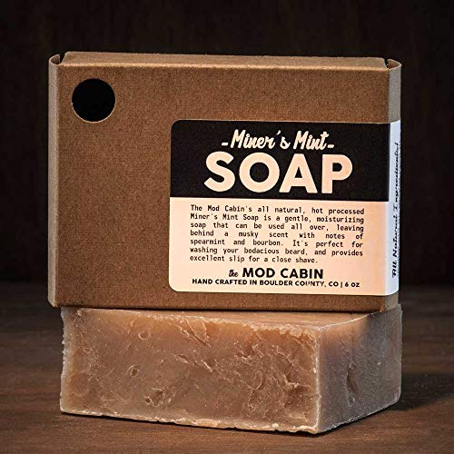 Miner's Mint Soap - All Natural, Hand Cut, Made in USA