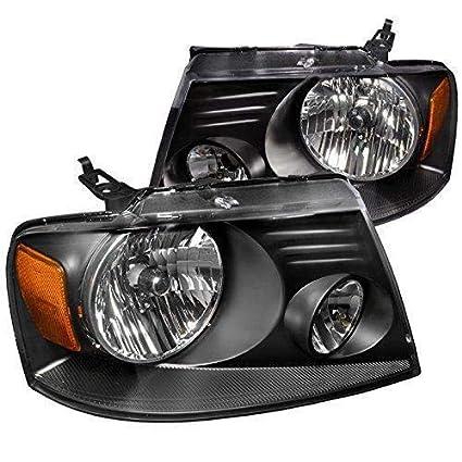 Amazon Com Ford F 150 2004 2005 2006 2007 2008 Euro Headlights