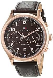 Tommy Hilfiger Men 1791387 Year-Round Analog Quartz Brown Watch
