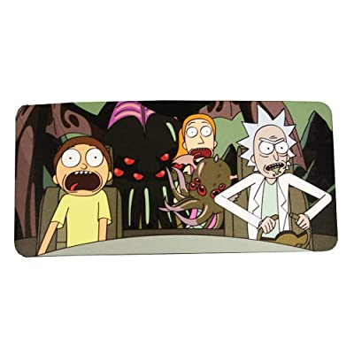 Rick and Morty Spaceship Car Window Sun Shade - Licensed Pop Culture TV Merchandise - Windshield Visor and Shield - Novelty Automotive Accessories - Standard Size UV Blocker - Geeky Funny Memorabilia