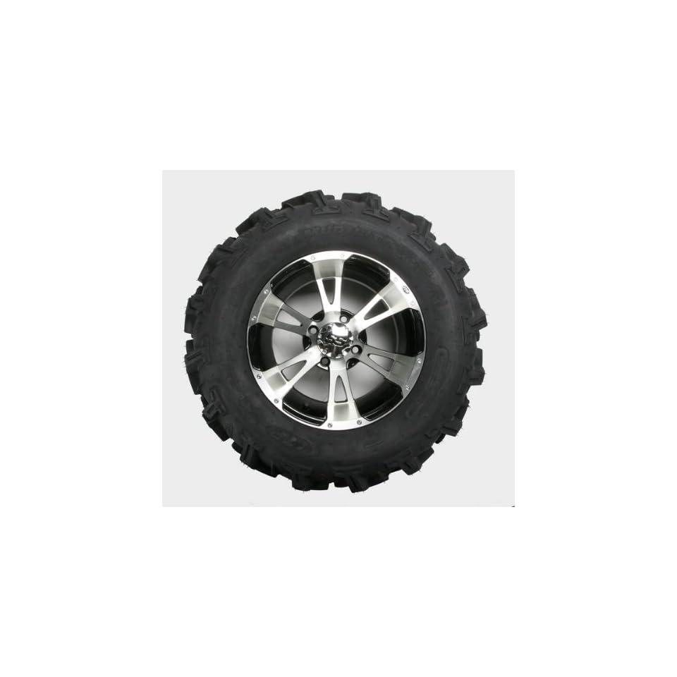 ITP Mud Lite XTR, SS112, Tire/Wheel Kit   27x11Rx14   Machined 42465L