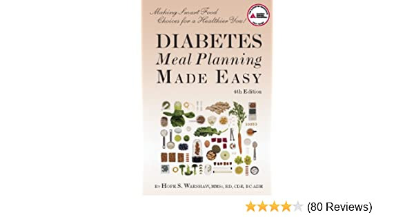 Diabetes Meal Planning Made Easy Hope S Warshaw Rd
