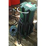 Zoeller DX161 Hazardous Locations High Head Flow Mate 230V Automatic Pump