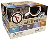 Victor Allen Coffee Variety Pack Cup Single Serve K-cup, 120 Count (Compatible with 2.0 Keurig Brewers)
