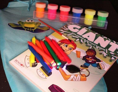 Crayon Art Apron - 8
