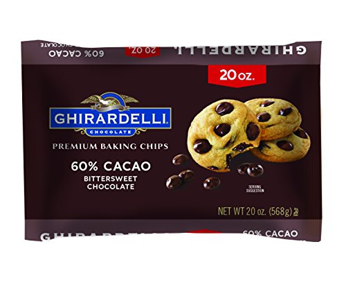 Ghirardelli Chocolate Bittersweet Baking Chips, 20 oz. ()