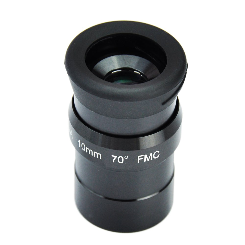 SWA 1.25inch 15mm Super Wide Angle 70 Degree Eyepieces for Astronomical Telescope - Five Elements Fully-Coated High-Index Glass Gosky GOPA001