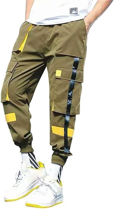 Buyaole Pantalones De Chandal Hombre, Pantalones De Chandal Hombre ...