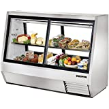 True Mfg TDBD-72-4, 72 Wide Double Duty Refrigerated Deli Case