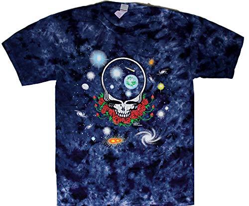 Tie Dyed Shop Space Your Face Grateful Dead Tie Dye T Shirt-2XL]()