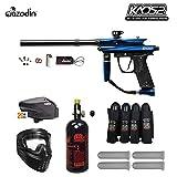 MAddog Azodin Kaos 2 Expert Paintball Gun Package - Blue/Black