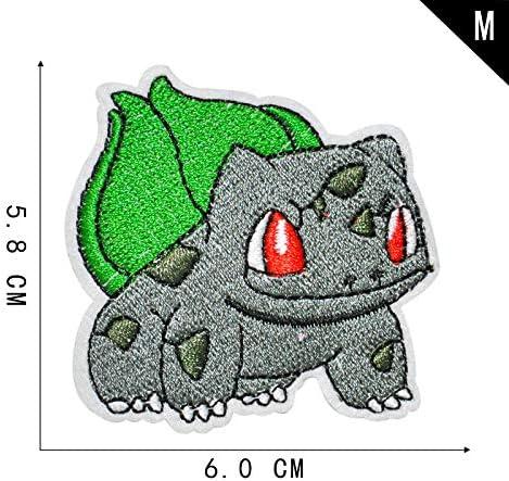 Coser O Planchar En Los Parches Apliques Para Ropa Camiseta Jeans Sombrero Bolsas Bolsas 16 estilos de pokemon de dibujos animados