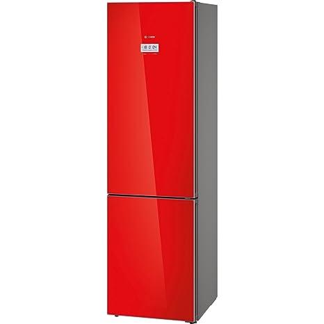 Bosch Serie 8 KGF39SR45 Independiente 343L A+++ Rojo nevera y ...
