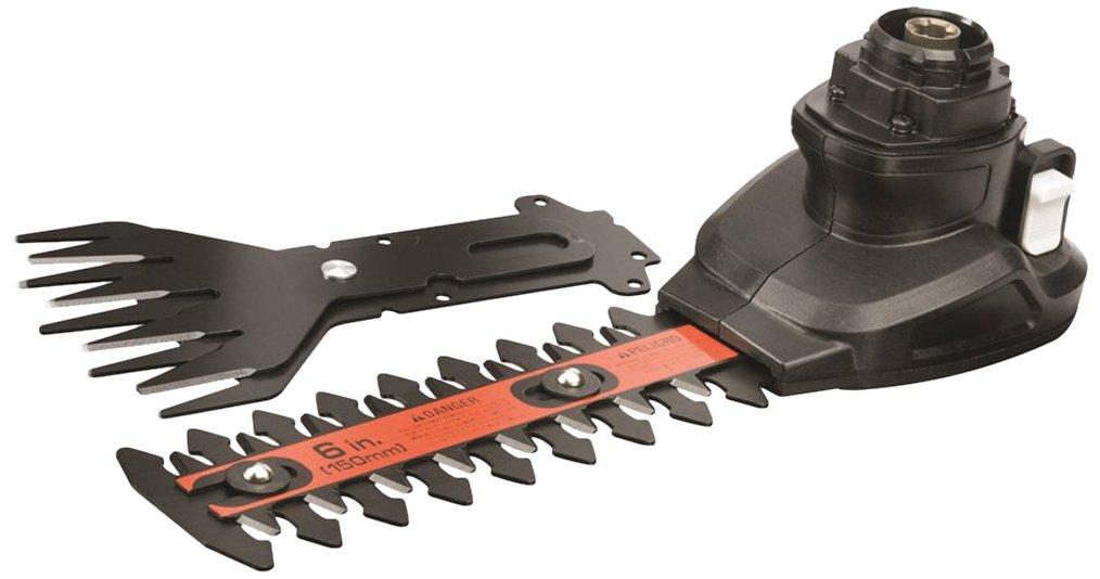 Black+Decker Multievo Multifunktionswerkzeug (100 mm Gras- und 150 mm Strauchscheren-Kopf, für MT18K/B; MT143K/B) MTSS11 Stanley Black & Decker Deutschland GmbH MTSS11-XJ