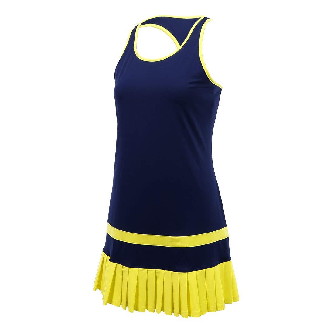 Fila Argyle Pleated Dress