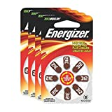 Energizer EZ Turn & Lock Hearing Aid Batteries, Size 312 (32 count)